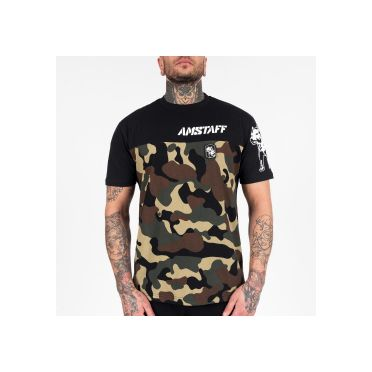 Tee-shirt Homme AMSTAFF Cenzo Camouflage